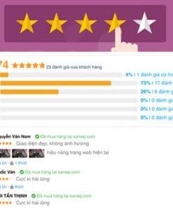 Plugin đánh giá review cho Woocommerce với Flatsome
