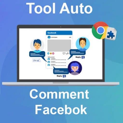 Tool Tự Động comment facebook