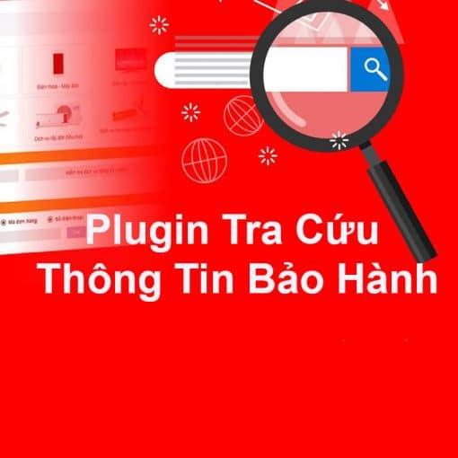 Plugin tra cứu thông tin bảo hành sản phẩm chuyên nghiệp